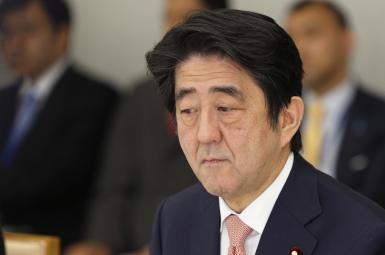 شینزو آبه نخستوزیر ژاپن
