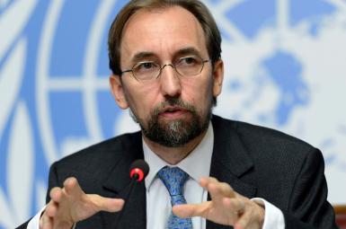 زید رعد حسین، کمیسرعالی حقوق بشر سازمان ملل