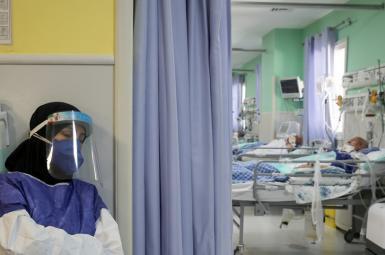 A hospital COVID ward in Mashhad, Iran. August 6, 2021