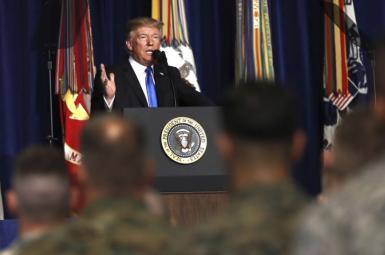استراتژی جدید آمریکا در قبال افغانستان
