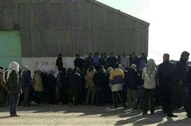 تجمع کارگران مجتمع نیشکر هفتتپه