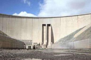 A dam in central Iran without water in 2017. FILE photo