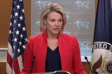 هدر نائورت، سخنگوی وزارت خارجه آمریکا