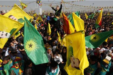 گردهمایی نوروز در دیاربکر ترکیه - سال ۲۰۱۳
