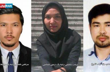 عزیزالله موحدی، زینب حسینی و مرتضی شفاهی