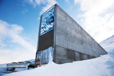 مقاومسازی بزرگترین بانک بذر جهانی در مقابل افزایش دمای زمین