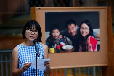 همسر زییو ونگ خواهان دخالت ترامپ در آزادی او شد