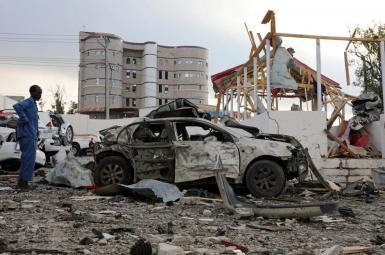 انفجار دو خودروی بمبگذاری شده در سومالی