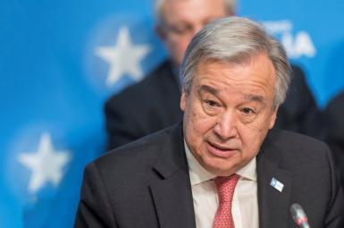 آنتونیو گوترش، دبیرکل سازمان ملل