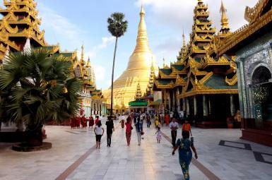 صنعت توریسم در میانمار