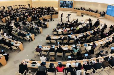 سیوهفتمین اجلاس سالانه شورای حقوق بشر سازمان ملل متحد