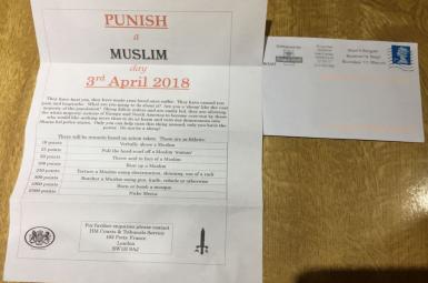 نامههای دعوت به برخورد خشن با مسلمانان
