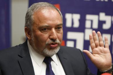 اویگدور لیبرمن وزیر دفاع اسراییل