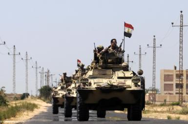 ارتش مصر در صحرای سینا