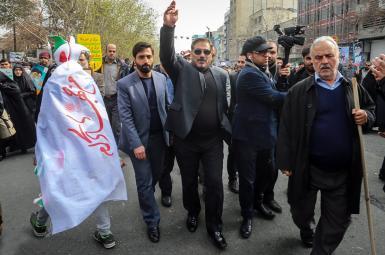 علی شمخانی، یکشنبه ۲۲ بهمن، با حضور در مراسم راهپیمایی سالگرد انقلاب اسلامی