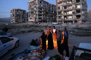 کمبود امکانات در زلزله کرمانشاه