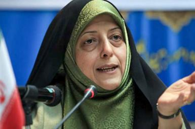 Maasumeh Ebtekar, President Hassan Rouhani's aide in women's affairs. File