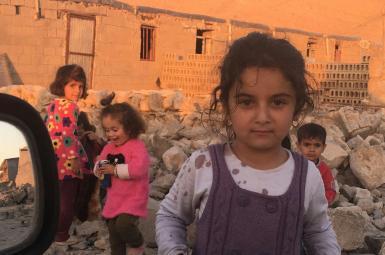 کودکان زلزله زده استان کرمانشاه
