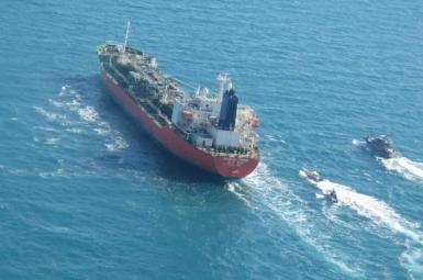The South Korean flagged tanker MT Hankuk Chemi seized by Iran. January 4, 2021