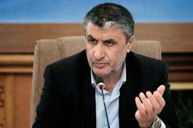 Mohammad Eslami, head of Iran's Atomic Energy Organization. FILE