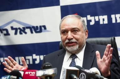 آویگدور لیبرمن، وزیر دفاع اسرائیل