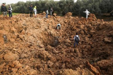 حمله هواپیماهای اسرائیلی به غزه