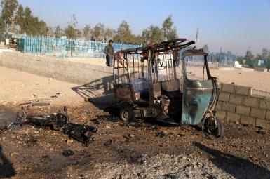 بمب منفجرشده در ولایت ننگرهار، در یک موتور جاسازی شده بود.