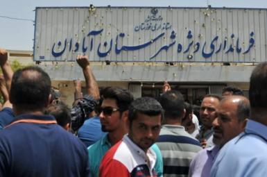 ادامه اعتراضات آبادانیها به شوری آب و وعدههای مسئولان برای حل این مشکل