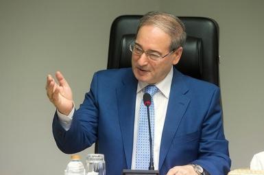 فیصل المقداد معاون وزیر خارجه سوریه