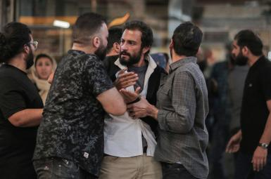 A scene from the Iranian fil, A Hero, by Asghar Farhadi. FILE