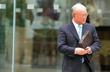 یوکیا آمانو مدیر کل آژانس بین المللی انرژی اتمی