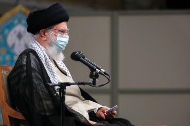 Iran's Supreme Leader Ali Khamenei addressing new cabinet. August 27, 2021