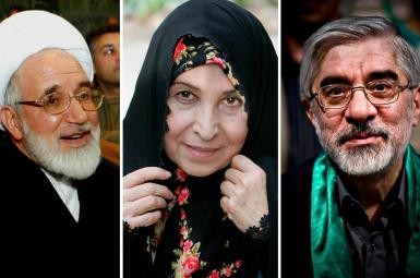 میرحسین موسوی، زهرا رهنورد، مهدی کروبی