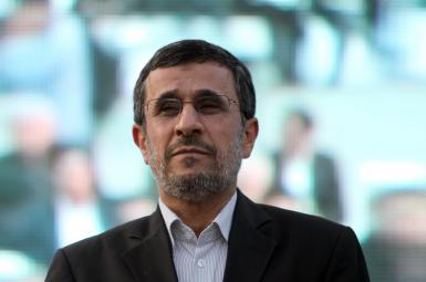 Former Iranian President Mahmoud Ahmadinejad. FILE