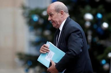 ژان ایو لودریان، وزیر امور خارجهی فرانسه