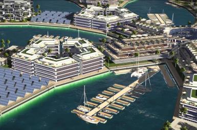 نخستین شهر دریایی بر روی بخش جنوبی اقیانوس آرام
