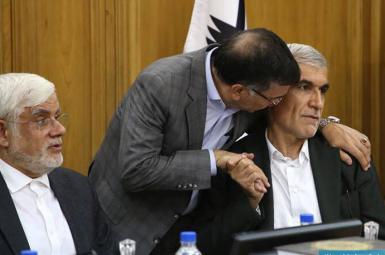 جلسه محمدعلی افشانی، شهردار تهران و اعضای شورای شهر با نمایندگان مجلس
