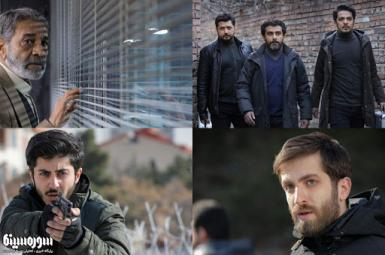 Images from Iranian TV series Gando produced by IRGC-controlled companies. FILE