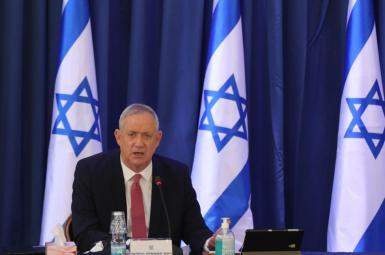 Israeli Defense Minister Benny Gantz. FILE
