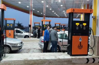 Gas station in Tehran. File photo