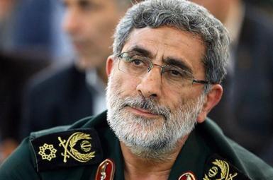 Esmail Ghaani, commander of Revolutionary Guards' Qods Force. File