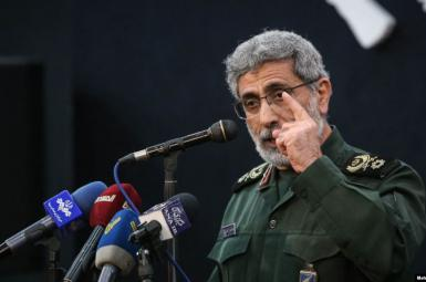 General Esmail Ghaani, commander of Iran's Qods Force. FILE PHOTO