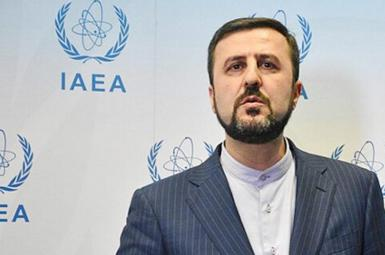 Kazem Gharibabdi, Iran's envoy to the International Atomic Energy Agency. FILE