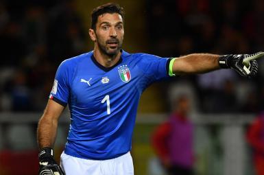 جیانلوئیجی بوفون، دروازهبان تیمملی فوتبال ایتالیا