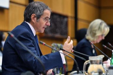 Rafael Grossi, Director of the International Atomic Energy Agency. November 18, 2020