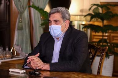 Piruz Hanachi, Tehran's mayor. FILE