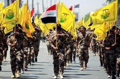 Iraqi Hashd al-Shaabi militia trained and nurtured by Iran. FILE photo