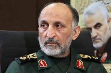 Mohammad Hejazi, deputy commander of Qods who is said to have died of a heart attack. FILE