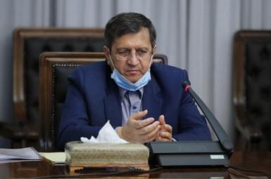 Abdolnasser Hemmati, governor of the Central Bank of Iran. FILE