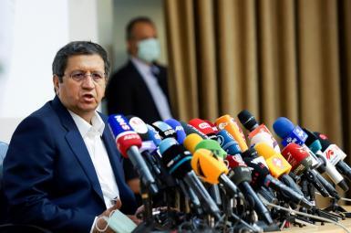 Abdolnasser Hemmati in his press conference on June 15, 2021